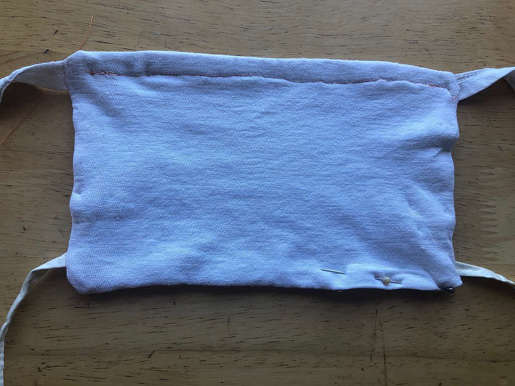 How to sew your own upcycled DIY fabric face mask