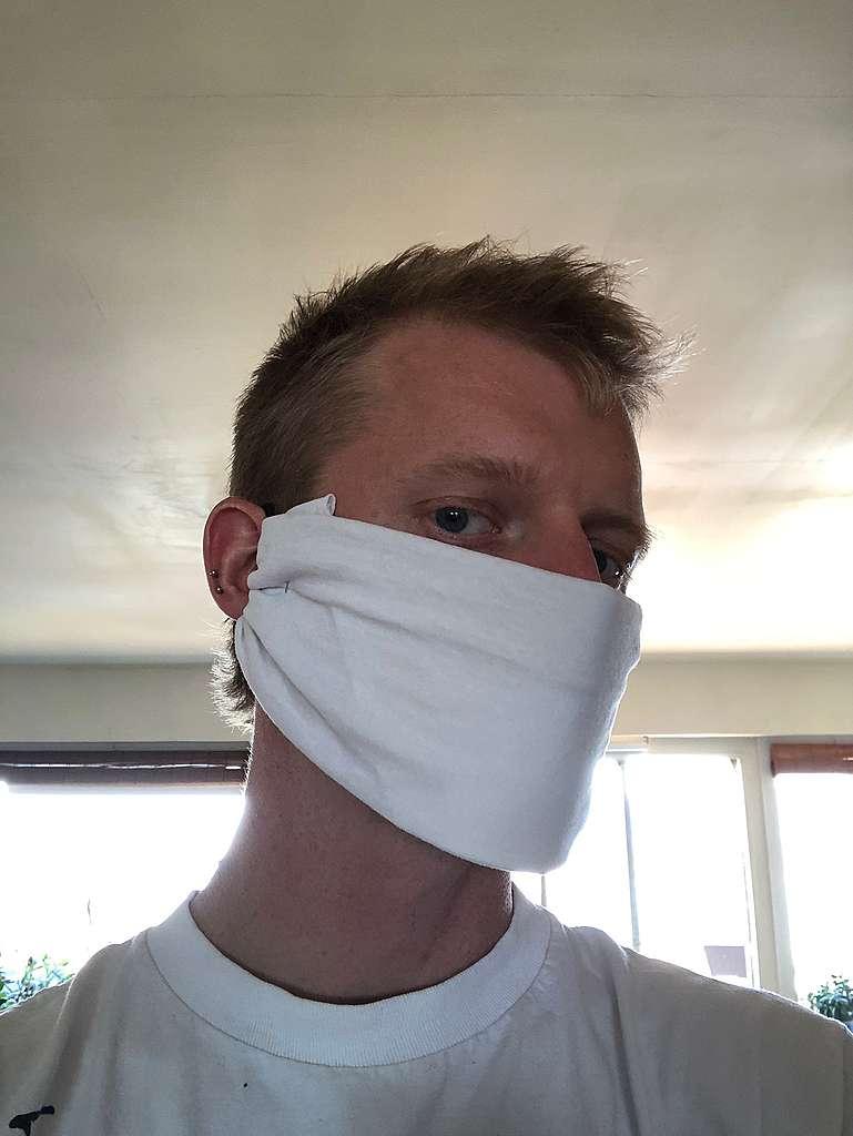 un masque non-médical sans couture