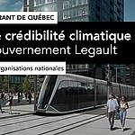 Réseau structurant de Québec: huit organisations nationales rappellent au gouvernement Legault qu'il ne doit pas rater ce test de crédibilité climatique