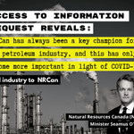 The oil industry is lobbying the Trudeau government over its net-zero goal and tagging in NRCan to be its 'man on the inside' champion