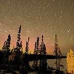 Timelapse over Broadback Valley Forest in Canada. © Oliver Salge / Greenpeace