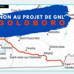 non au projet de gnl goldboro