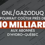 Hydro-Québec confirme l'augmentation des tarifs d'électricité pour alimenter GNL Québec/Gazoduq