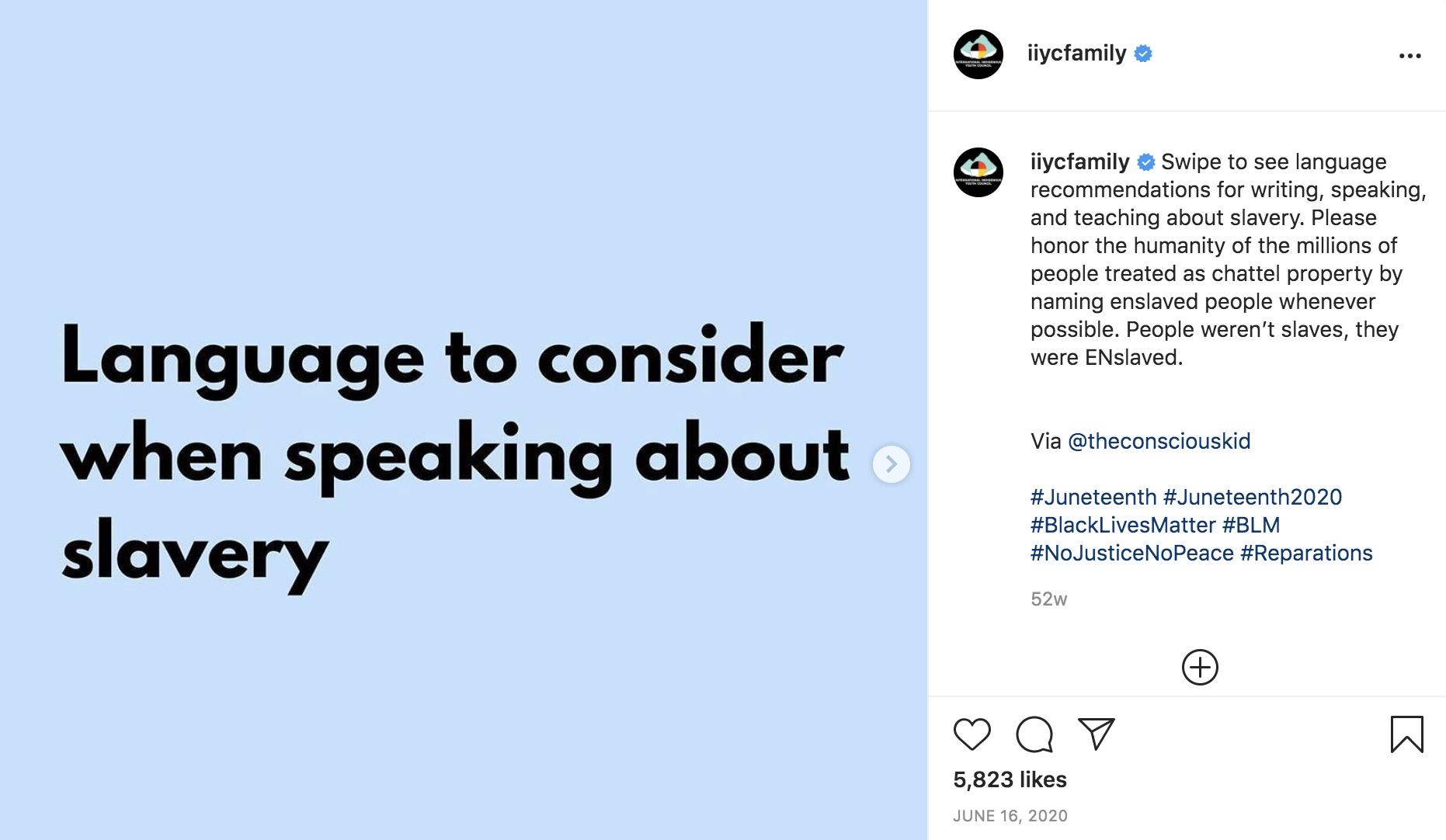 Instagram Video Embed Black Lives