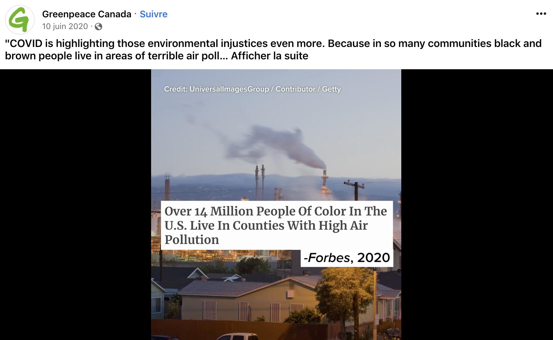 Facebook Video Embed Black Lives