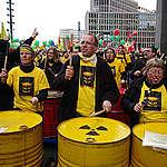 Anti-nuclear Demonstration in Berlin. © Greenpeace / Santiago Engelhardt