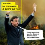 En lugar de proteger el Amazonas, el gobierno hace campaña para salvar su propia imagen