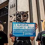 """Greenpeace y estudio PUC: """"La Constitución debe garantizar el acceso al agua y no su propiedad privada"""""""