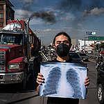La ciudadanía desconoce el aire que se respira al transitar por Bogotá