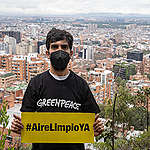 Greenpeace alerta sobre el impacto del transporte en el aire de Bogotá