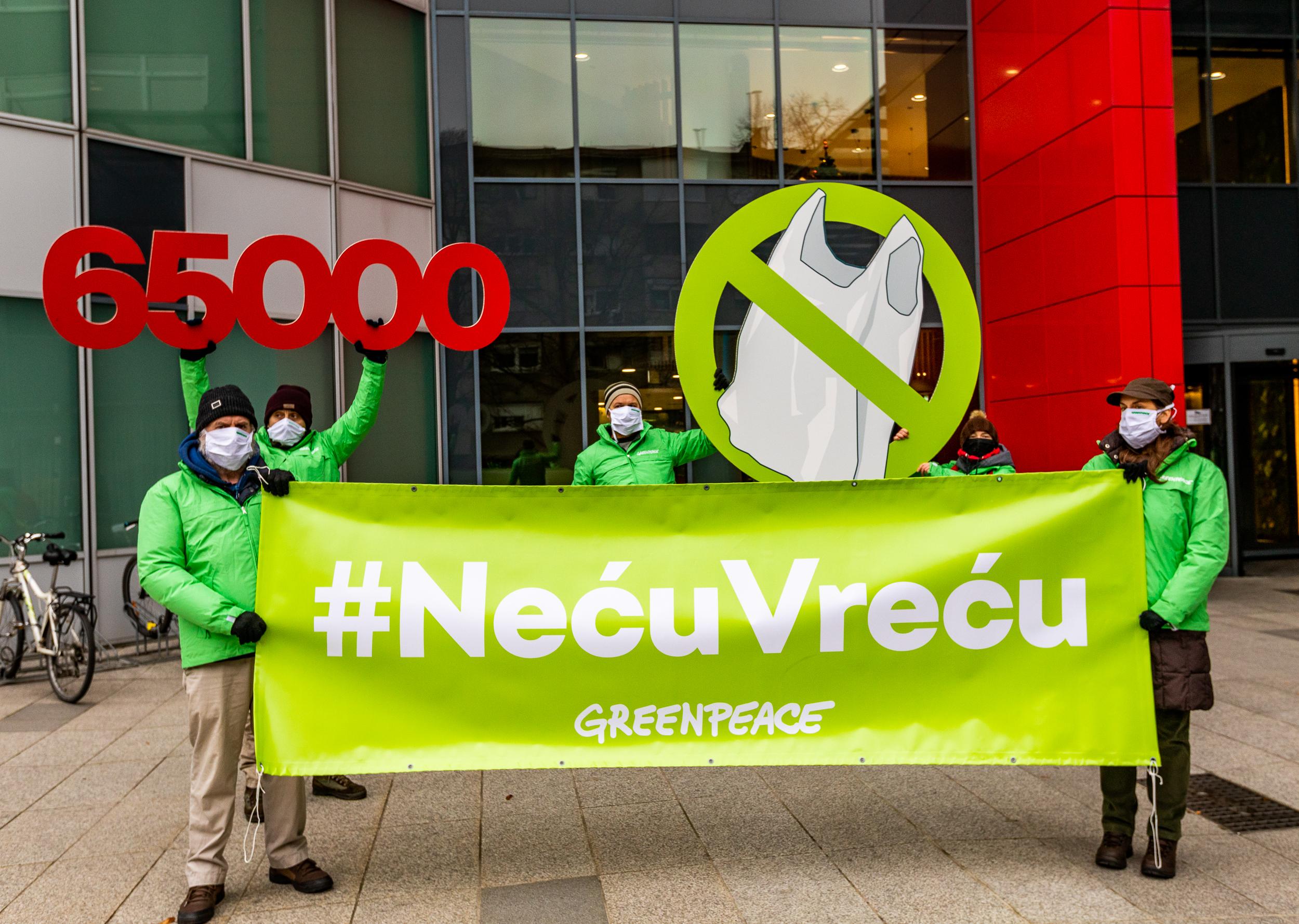 65.000 građana protiv plastičnih vrećica