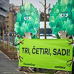 Zagreb treba više zelenila, a manje betona