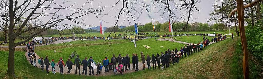Protest proti rozšiřování dolu Turow na trojmezí Česka, Polska a Německa