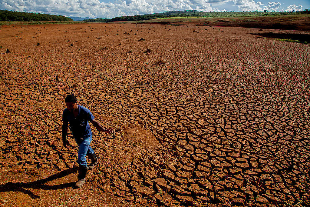 Dried Out Land in Brazil. © Gabriel Lindoso / Greenpeace