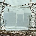Dukovany Nuclear Power Station Czechoslovakia. © Greenpeace / Michael Stenitzer