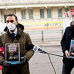 Polské odbory PGE podaly stížnost na Česko. Protest Greenpeace proti dolu Turów stále pokračuje