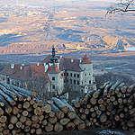 Další rána pro zjizvenou krajinu severních Čech. Tisíce let staré lesy v Krušných horách padají k zemi