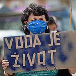 Organizace Greenpeace vyzvala ministry, aby zveřejnili obsah smlouvy s Polskem o těžbě na dole Turów