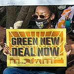 Rally for Bold Biden Action at DNC in Washington D.C. © Tim Aubry / Greenpeace