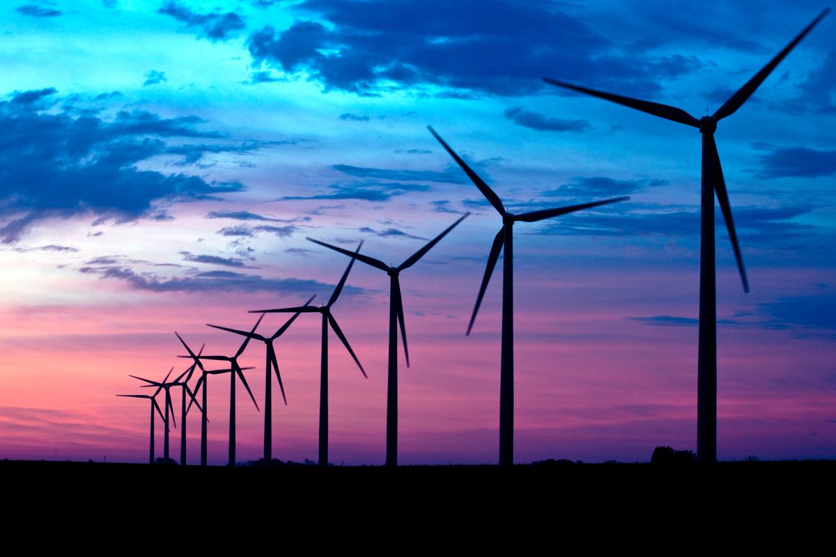 Wind Farms in Iowa. © Karuna Ang / Greenpeace