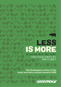 Less is more - Greenpeace