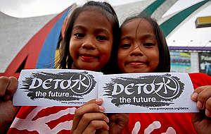 "Manila Bay Clean-up ""Detox"" Run. © Alanah  Torralba"