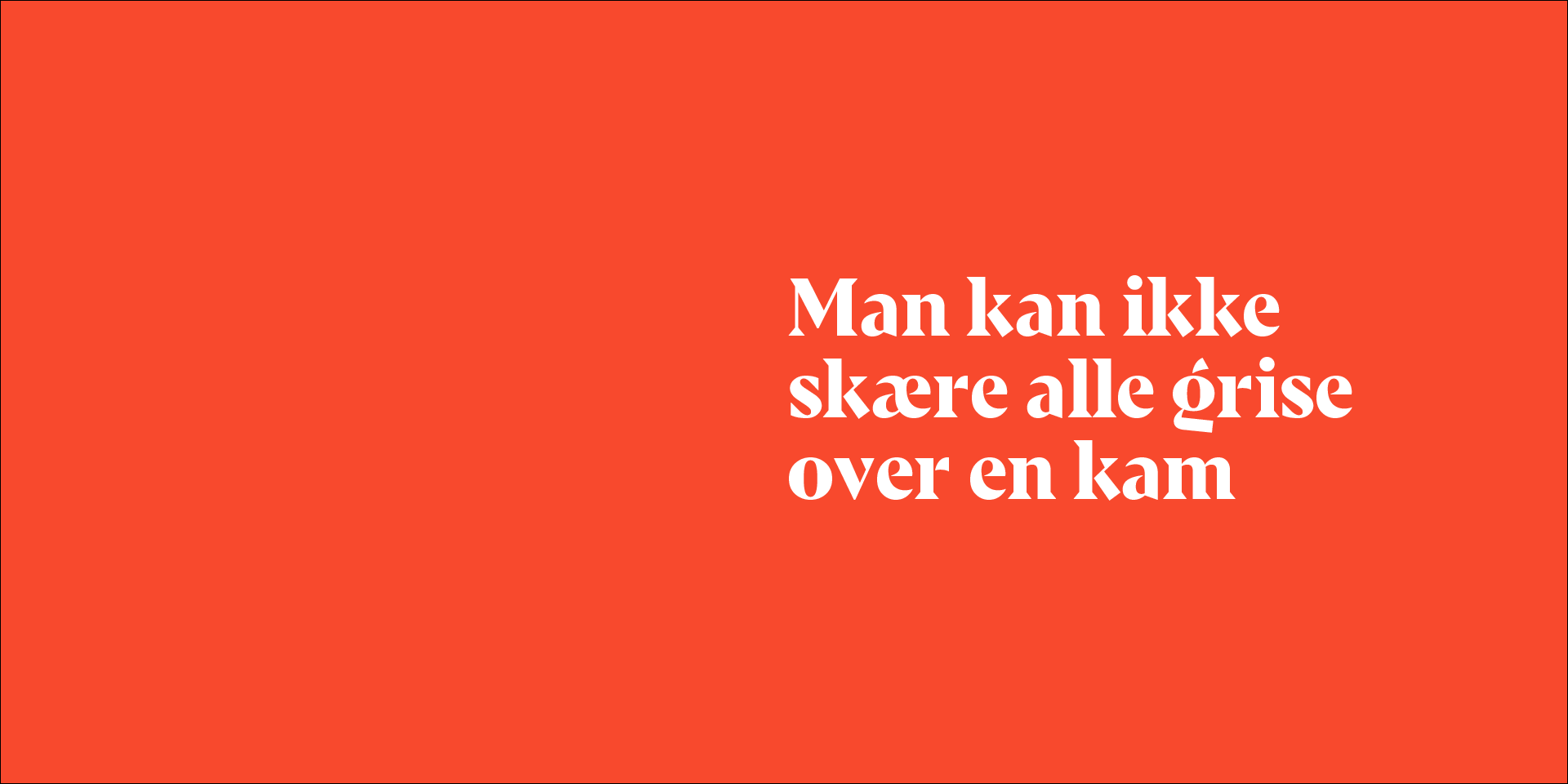 Danish Crown prøver at bilde dig ind, at danske svin er mere klimavenlige end alle andre svin