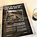 Landsdækkende Greenpeace-annonce med dødt svin efter trusler fra landbrugslobbyen