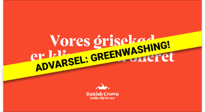 GREENWASHING: Vores grisekød er klimakontrolleret