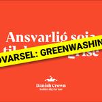 GREENWASHING: Ansvarlig sojatil danske grise