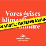GREENWASHING: Vores grisesklimaaftryk er 25% mindre