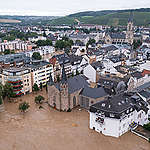 Rain Catastrophe in Bad Neuenahr Germany. © Dominik Ketz / Greenpeace