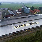 End this Meat Madness Protest in Denmark. © Erik Albertsen / Greenpeace