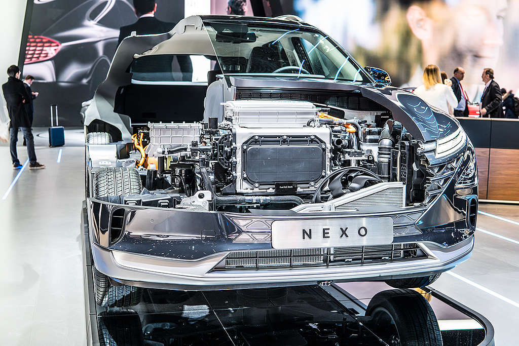 Hyundai Motor's Nexo Hydrogen Fuel Cell Vehicle