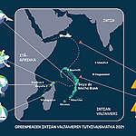 Matka Intian valtamerellä
