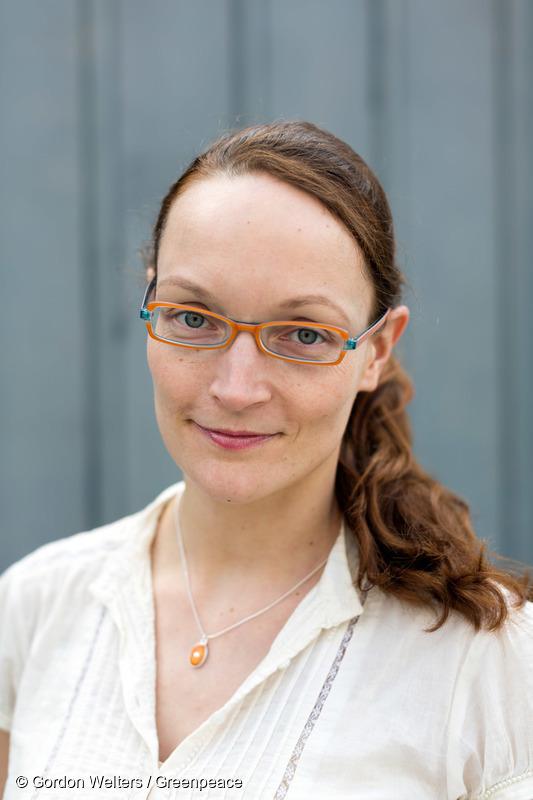 Suomen Greenpeacen ilmasto- ja energia-asiantuntija Kaisa Kosonen.