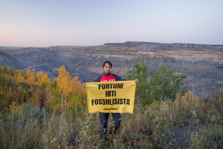 Terveiset maailmalta: Fortum, nyt irti fossiilisista