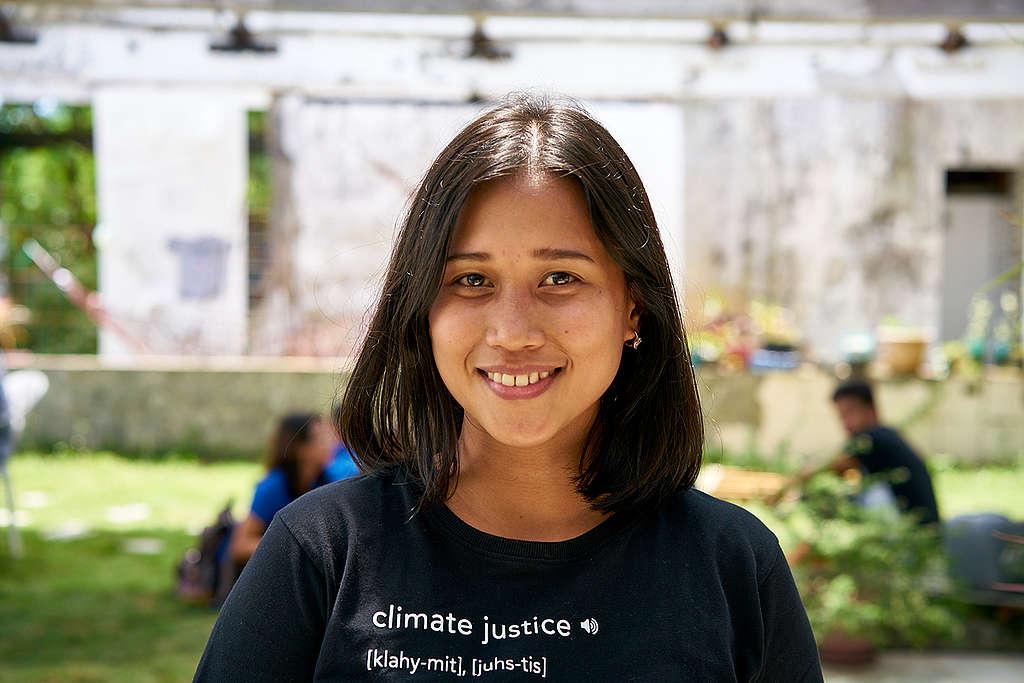 Joanna Sustento Human LIVErary Event in Tacloban. © Noel Guevara
