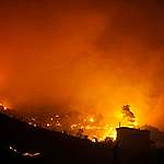 Forest Fires in Athens. © PHASMA / Mihalis Karayannis