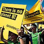 """""""Fridays for Future"""" Demonstration near Open-Pit Coal Mine Garzweiler II. © Chris Grodotzki / Greenpeace"""