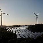 Wind Farm and Solar Power Plant In Ilocos Norte. © Veejay Villafranca / Greenpeace