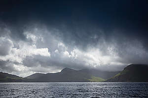 Storm Clouds Scotland. © Will Rose / Greenpeace