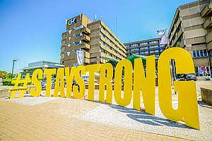 Stay Strong Action in Belgium. © François Dvorak / Greenpeace
