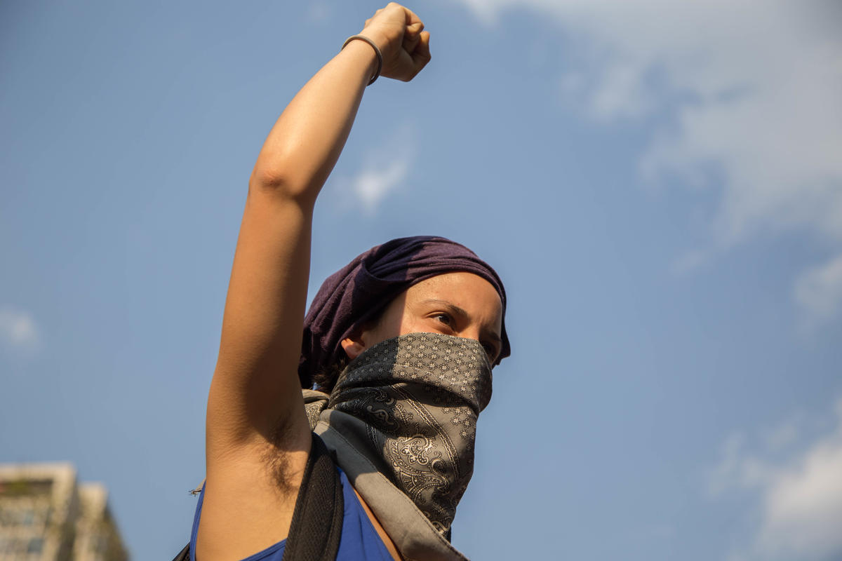 International Women's Day March in Mexico. © Ilse Huesca Vargas / Greenpeace