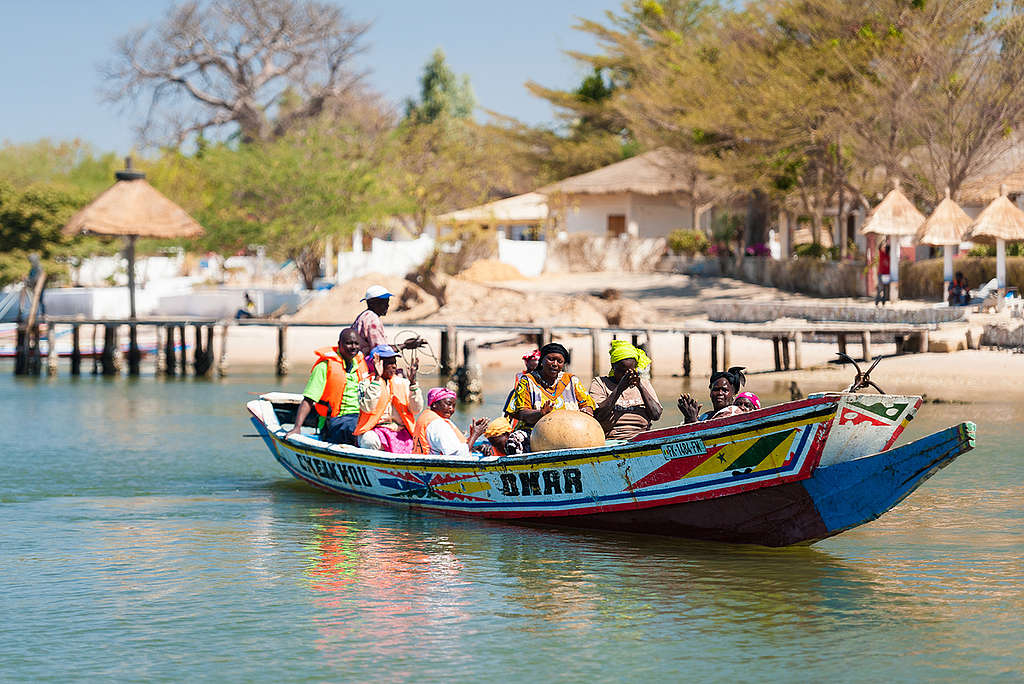 Fishers Depart to Collect Seafood in Senegal. © Clément  Tardif / Greenpeace