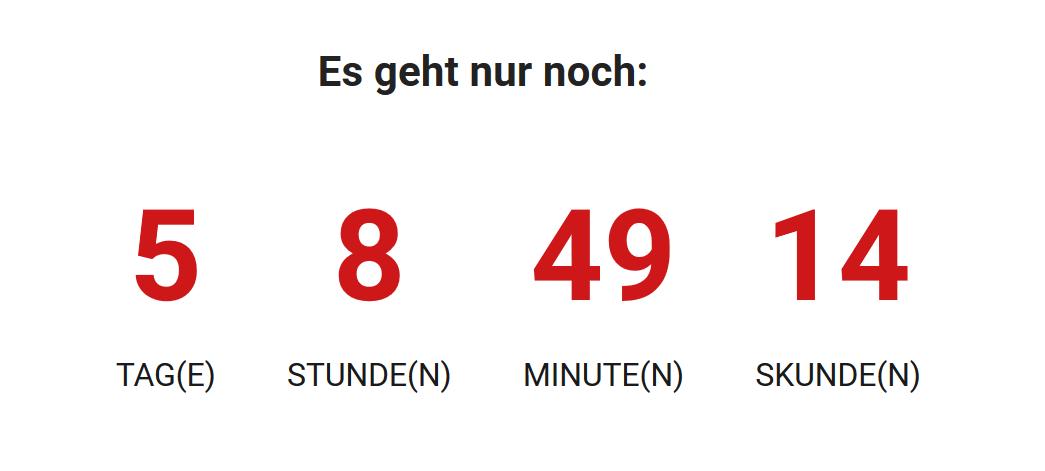 "Add a ""Countdown"" block"