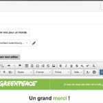 Bilingual Petitions on P4 : How to  send Thank You Email by language on Engaging Networks