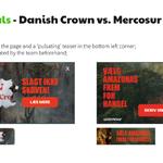 Using pop-ups in GP Israel and GP Denmark