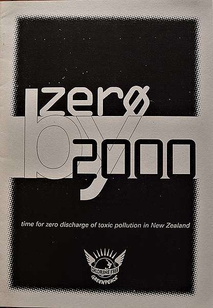 30 September 1994 Greenpeace publishes 'Zero by 2000' – a report calling for a phase-out of dioxin pollution by the year 2000 written by Michael Szabo and Tim Birch