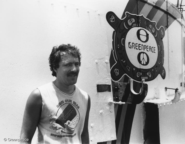 Greenpeace photographer Fernando Pereira who was killed when French DGSE agents bombed the Rainbow Warrior in Auckland Harbour on 10 July 1985